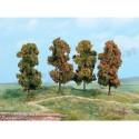 Heki 2001 jesienne drzewa liściaste 18 cm 4 szt