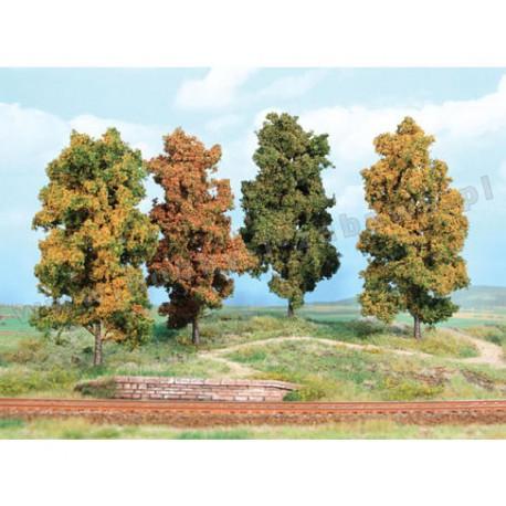 Heki 2002 jesienne drzewa liściaste 10 cm 4 szt