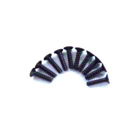 3*12 Śruby z łbem płaskim 10 szt. - 02178