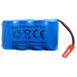 300mAh 4.8V NiCd JST do czołgów IS-2