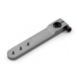 Aluminiowy orczyk do serwomechanizmu JR/Graupner jednoramienny (50mm)