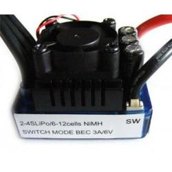 Dwukierunkowy regulator obrotów 80A 7,2-14,8V