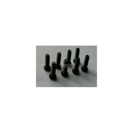 Śruby samogwintujące z łbem kulistym 4x14 8 szt. - 85176