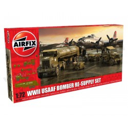 Airfix A06304 WWll USAAF 8th Air Force Bomber Resupply Set 1:72