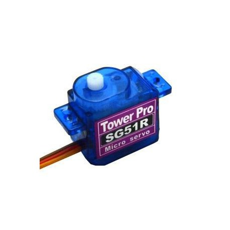 Oryginalne serwo SG51R (micro, 0.6kg/4.8V, 0.1sek/60*)