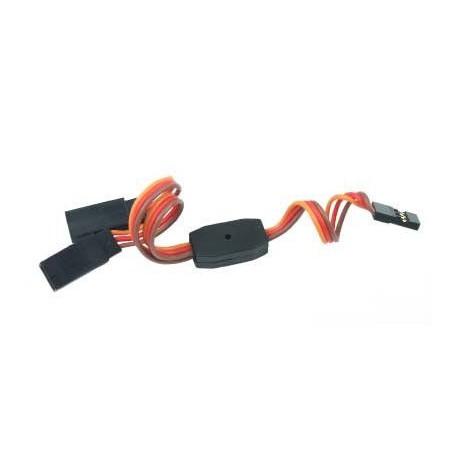 Y - kabel rozgałęziacz JR 15cm 22AWG prosty