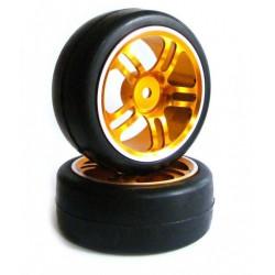 Koła GPX aluminiowe Drift 1:10 2szt - 122103