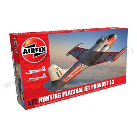 Model Airfix A02103 Hunting Percival Jet Provost|T.3|T.3a|skala 1:72|modelartwo