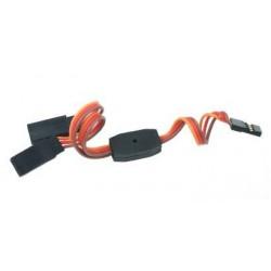 Y - kabel rozgałęziacz JR 30cm 26AWG prosty