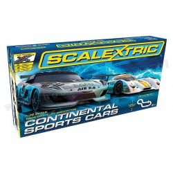 Scalextric C1319 Continental Sports Cars Set tor wyścigowy