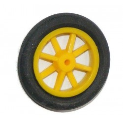 Koło gumowe szprychowe 32mm