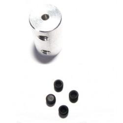 Łącznik sztywny 3.2mm - 4mm długość 18mm