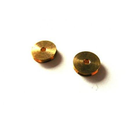 Kółko obrotowe do linek 4 mm, otwór 1,5 mm - 2szt