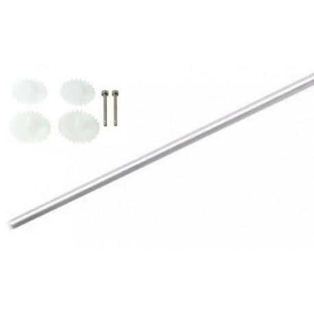 Syma 102G wał główny + zestaw zębatek - S102G-07