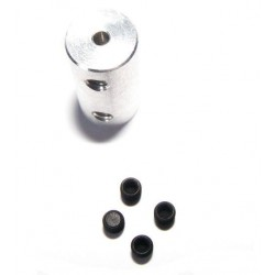 Łącznik sztywny 2mm - 2mm długość 18mm