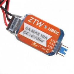 Regulator napięcia odbiornika ZTW 2-6S UBEC 6A 5/6V