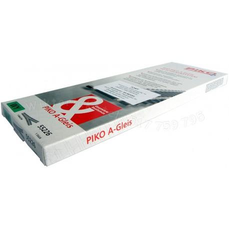 Piko 55226 rozjazd WY A-Gleis H0
