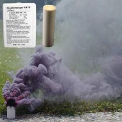 Czarna świeca dymna AX-18 1szt