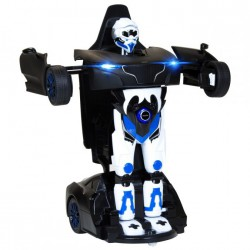 RS X MAN Transformer RASTAR 1:14 2.4GHz RTR (akumulator, ładowarka USB) - Czarny