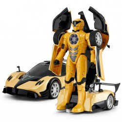 Pagani Transformer RASTAR 1:14 2.4GHz RTR (akumulator, ładowarka sieciowa) - Żółty