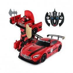 GT3 Transformer 1:14 2.4GHz RTR (akumulator, ładowarka USB) - Czerwony