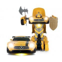 GT3 Transformer 1:14 2.4GHz RTR (akumulator, ładowarka USB) - Żółty