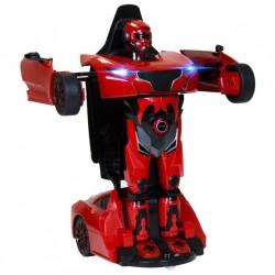 RS X MAN Transformer 1:14 2.4GHz RTR (akumulator, ładowarka USB) - Czerwony