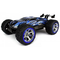 Land Buster 1:12 Monster Truck RTR 2.4GHz Li-Ion 1500mAh - Niebieski