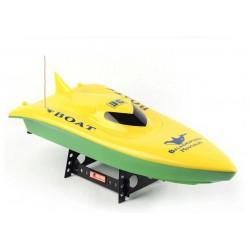 Volvo Racing Boat (RTR, Zasięg 70m, 35km/h) - Żółty