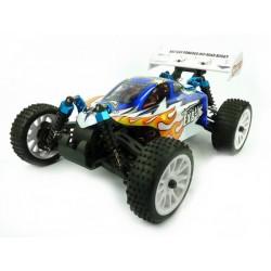 Himoto EXB-16 Buggy 1:16 4x4 2.4GHz RTR (HSP Troian) - Niebieski