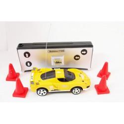 Mini Car RC 1:58 - Żółty