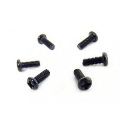 Śruby z łbem kulkowym 3x8 6 szt. – 23636