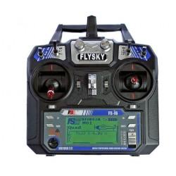 FlySky FS-i6 6CH 2.4GHz + odbiornik iA6 z telemetrią