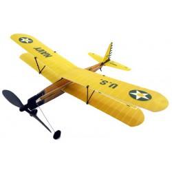 Szybowiec Aviator-Biplane 430mm z napędem gumowym