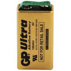 Bateria 9V GP Ultra Alkaline
