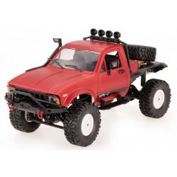 Samochód OFF-ROAD WPL C-14 (1:16, 4x4, 2.4G, LiPo, czas pracy 40 min) - Czerwony