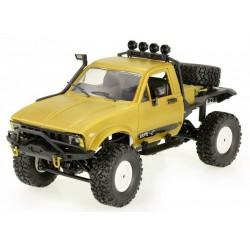 Samochód OFF-ROAD WPL C-14 (1:16, 4x4, 2.4G, LiPo, czas pracy 40 min) - Żółty
