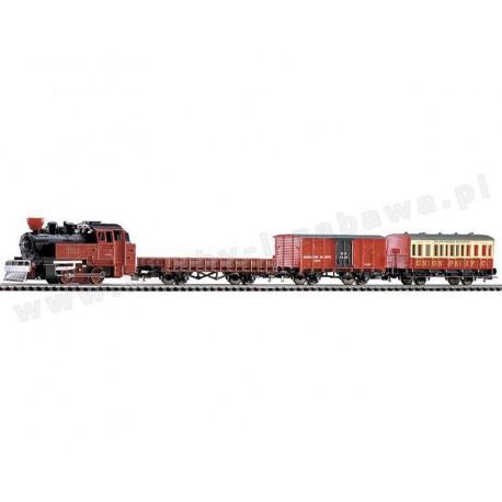 Piko 57140 zestaw startowy parowóz plus trzy wagony Western-Express