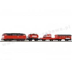 Piko 57153 zestaw startowy towarowy BR 218 DB straż pożarna
