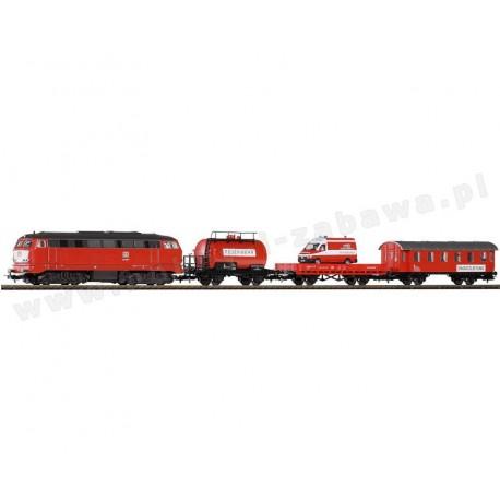 Piko 57153 zestaw startowy towarowy DB straż pożarna