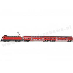 Piko 57171 zestaw startowy elektrowóz Taurus BR 182 dwa wagony osobowe piętrowe DB AG Regio