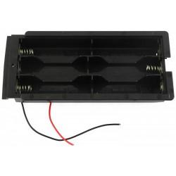 Koszyczek długi na 6 akumulatorów R6/AA