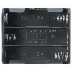 Koszyczek FLAT na 3 akumulatory R6/AA