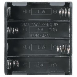 Koszyczek FLAT na 4 akumulatory R6/AA
