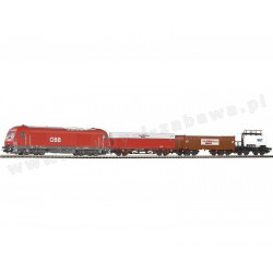 Piko 96948 zestaw startowy towarowy HERKULES ÖBB trzy wagony