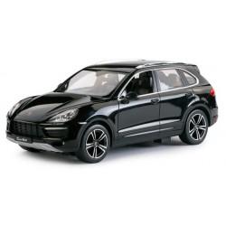 Porsche Cayenne Turbo RASTAR 1:14 RTR (akumulator, ładowarka sieciowa) - Czarny