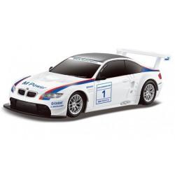 BMW M3 1:24 RTR (zasilanie na baterie AA) - Biały