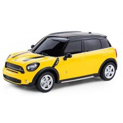 MINI Cooper S Countryman 1:24 RTR (zasilanie na baterie AA) - Żółty
