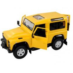 Land Rover Denfender 1:14 RTR (akumulator, ładowarka sieciowa) - Żółty