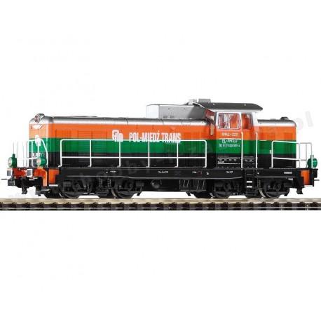 Piko 59476 Lokomotywa SM42-2211 Pol-Miedź Trans typ 6D spalinowa manewrowa